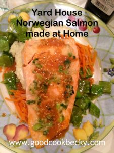 Ginger Crusted Salmon